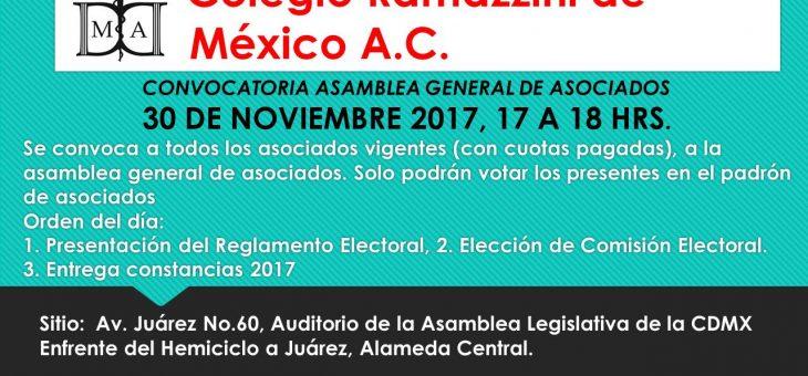 Convocatoria Asamblea General de Asociados