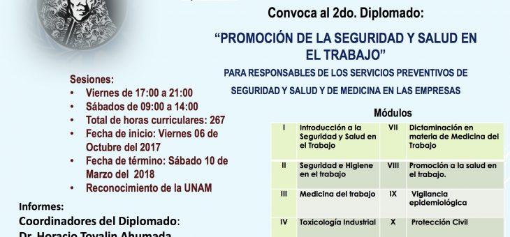 """Diplomado: """"Promoción de la Seguridad y Salud en el Trabajo"""""""
